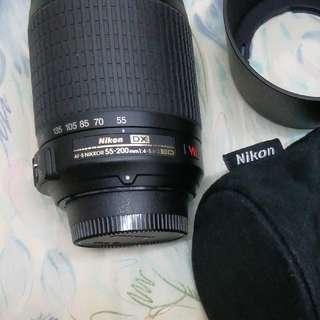 Nikon 長鏡頭 55-200mm