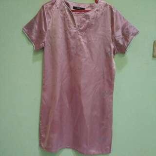 Tunik Pink Pendek