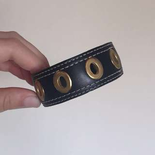 Coach Leather Bangle
