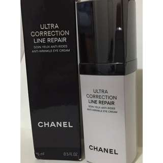 Authentic Chanel Ultra Correction Line Repair Anti-wrinkle Eye Cream