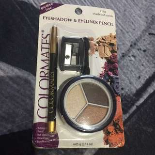 auth color mates eye shadow & eye liner