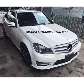 Mercedes Benz C200 AMG Plus Package Year 2012 (UNREGISTERED)