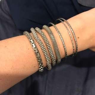 Silver Bracelet Pack