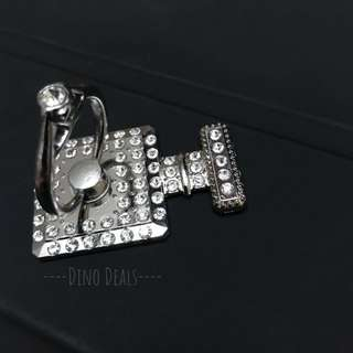 Silver Phone Holder Ring
