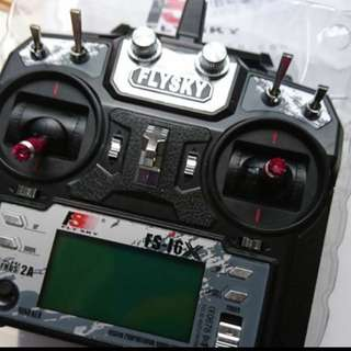 Flysky FS-i6X 10CH 2.4GHz AFHDS 2A RC Transmitter With X6B i-BUS or A8S receiver
