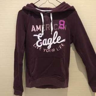 American Eagle Maroon Hoodie