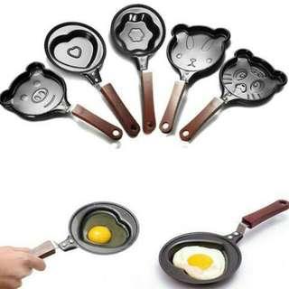 Mini Non Stick Cartoon Omelette Fry Pan (BUNDLE OF 3)