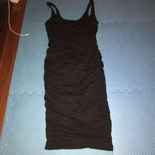 Kookai BNWT Black Midi Dress 1