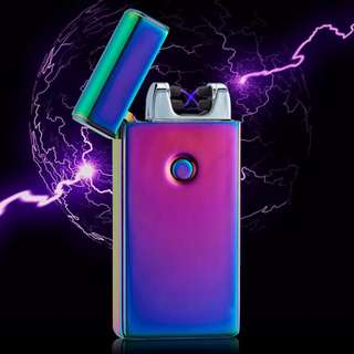 Rechargeable Electric Dual Arc Lighter