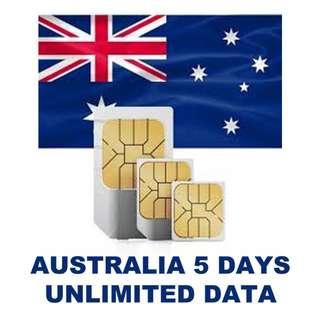 Data Sim Card, Australia, China, Taiwan, Jap, Korea, Singapore, Thai, Mala, Laos