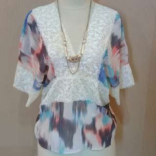 Blouse simple warna gradiasi 😍😎