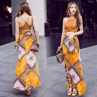 異國風小可愛+長裙