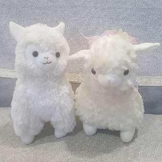 Alpaca couple toy 01