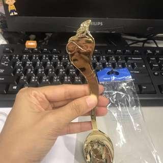 Genie Disney 匙 Spoon New (包郵)迪士尼海洋 日本 阿拉丁 神燈。燈神