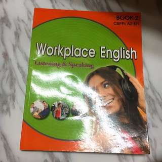 英文課本 wotkplace english