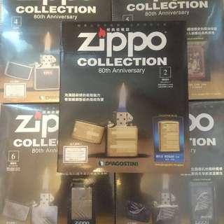 (急放)Zippo collection 2、4、5、6、7期連火機