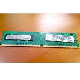 Samsung 1GB 240-Pin DDR2 SDRAM DDR2 667 (PC2 5300)