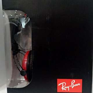 Authentic Ray Ban headphones