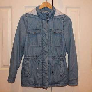 Denim Look Jacket Size 8