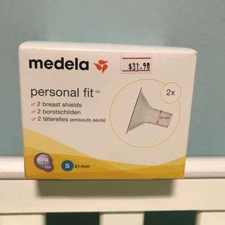 BNIB Medela Breast Shields (S - 21mm)