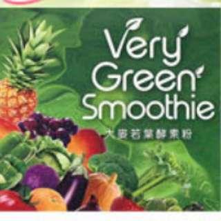 現貨一盒Very Green Smoothie 大麥若葉酵素粉 30包