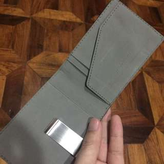 New Wallet slim money clip card holder