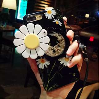 Daisy Flower Case For Apple iPhone with Back Mirror