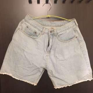 寬版低腰牛仔褲 適合28-30腰