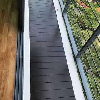 chengal wood decking