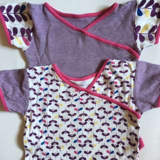 SALE!!Set Of 2 Girl's Rompers fr Mothercare