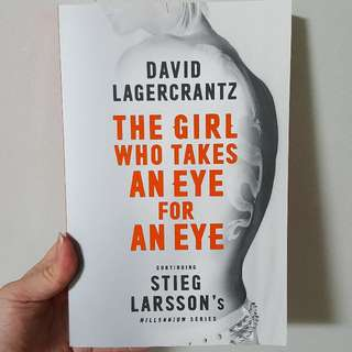 The girl who takes an Eye for an Eye