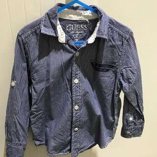 Boys Guess Dress Shirt