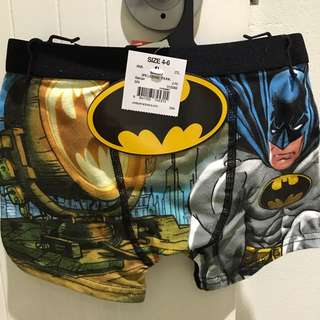 Boys superhero 2 pack trunks