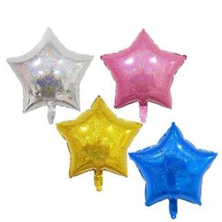 18 Inch Holographic Star Balloon