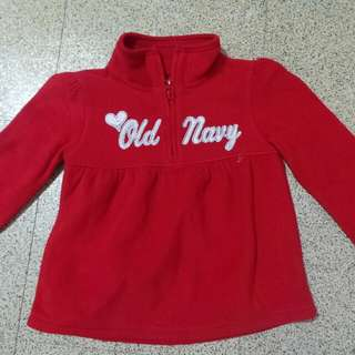 Red sweater for kids (Old Navy)