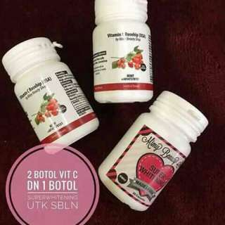 Whitening supplement Vit c ROSEHIP
