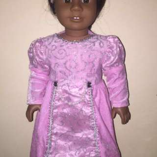 Pink Princess gown for 18 in dolls