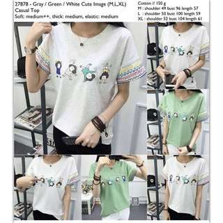 Casual Top size M (kecil)