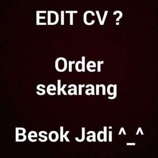Design CV + lamaran