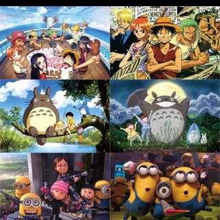 1000 Pcs Anime Puzzles -  One Piece