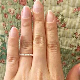 Mabelle Leo Diamond 35份 鑽石 玫瑰金 18K 750 戒指