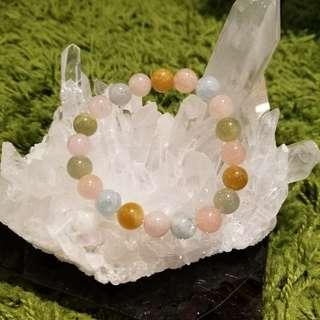 全新已淨化優質水晶 - 糖果綠柱石(摩根石)
