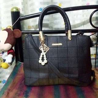 Minmin Leather Hand/shoulderbag
