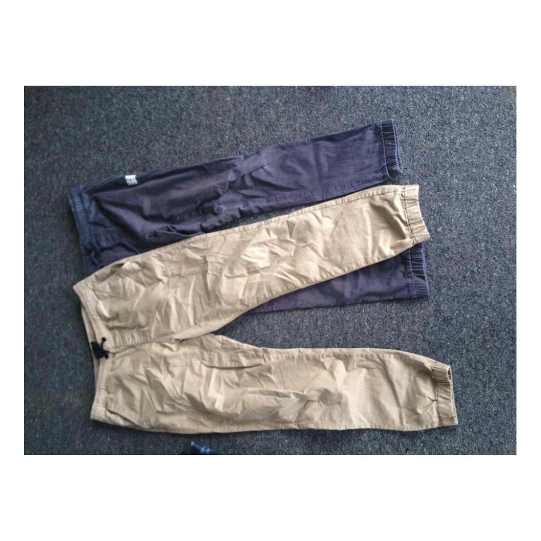 3x Size 34 pants