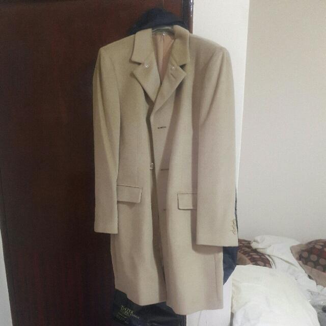 長版駝色外套