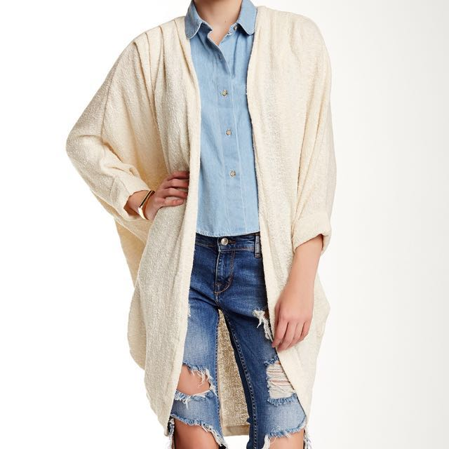 AA Oversized Knit Cardigan