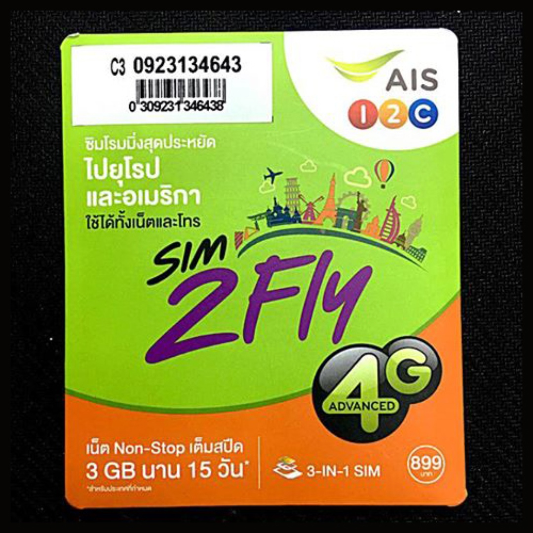 DATA SIM 15 DAYS 4G/3G UNLIMITED DATA, Europe USA & Asia, cover 62 Countries