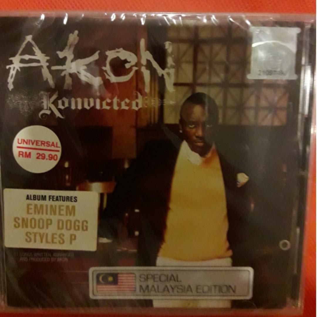 Akon - Konvicted (Special Malaysia Edition) CD, Music & Media, CD's