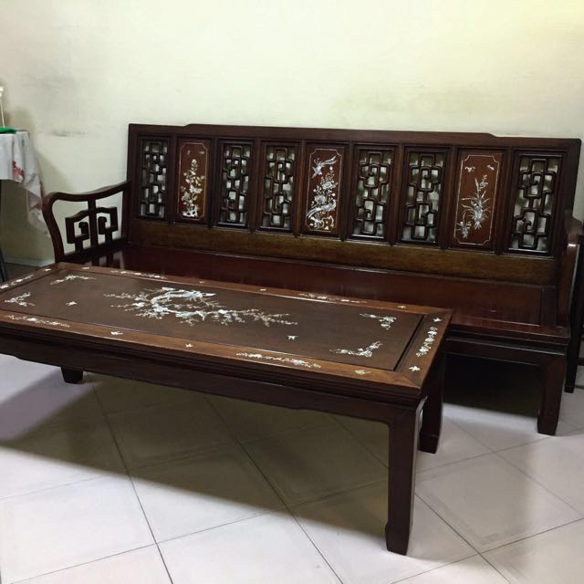 Antique Rosewood Furniture Furniture Tables Chairs On Carousell