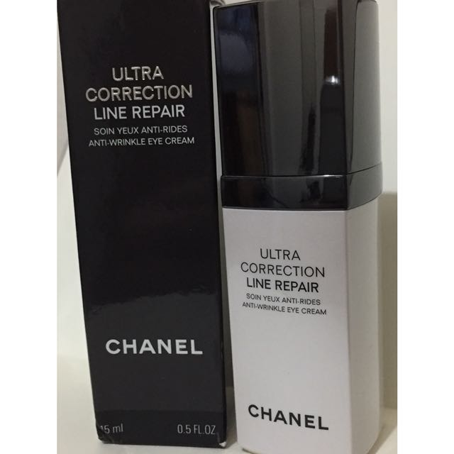 Authentic Chanel Ultra Correction Line Repair Anti-wrinkle Eye Cream ... 7bac1594fb67